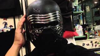 Star Wars Black Series Kylo Ren Electronic Voice Changer Helmet Toy Review