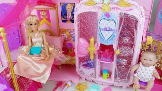 Baby doll bag house and dress beauty toys play - ToyMong TV 토이몽