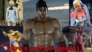 Download Video Tekken 7 : All Intros & Win Poses - All Characters including Eliza MP3 3GP MP4