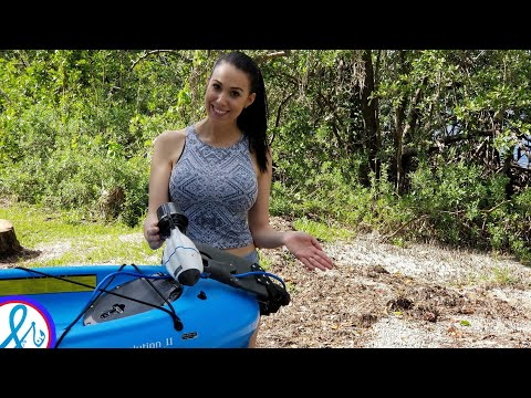Amazing Super Light And Fast Kayak Motor Bixpy Jet Water Propulsion System Youtube