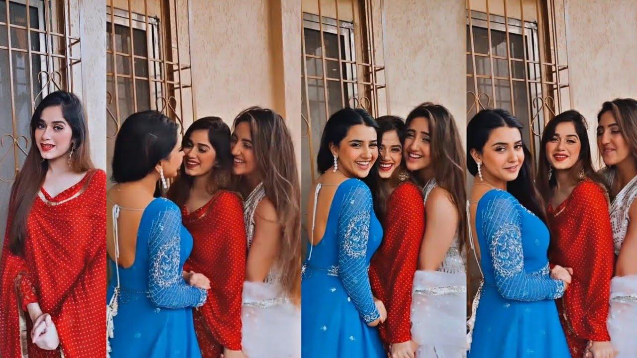 Jannat Zubair Shorts ❤️ with Ashnoor Kaur and roshni friends forever new🥺😍