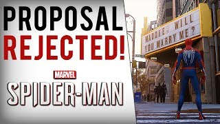 Spiderman PS4 Marriage Proposal Goes EXTREMELY WRONG (Easter Egg Backfires...)
