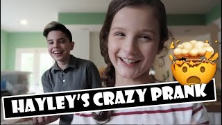 Hayley's Crazy Prank 😬 (WK 377) | Bratayley