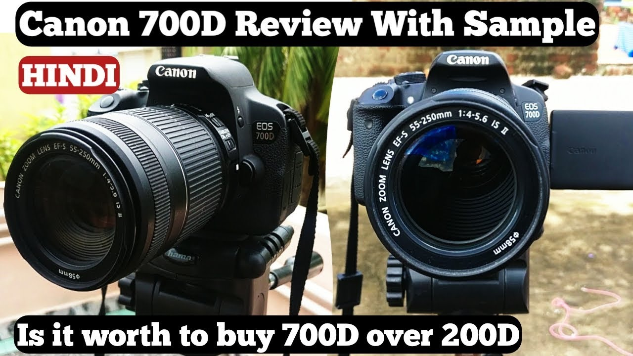 Canon 700D Review In Detail Hindi