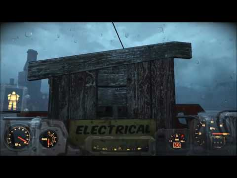 Fallout 4 - small build - outhouse powerhouse!