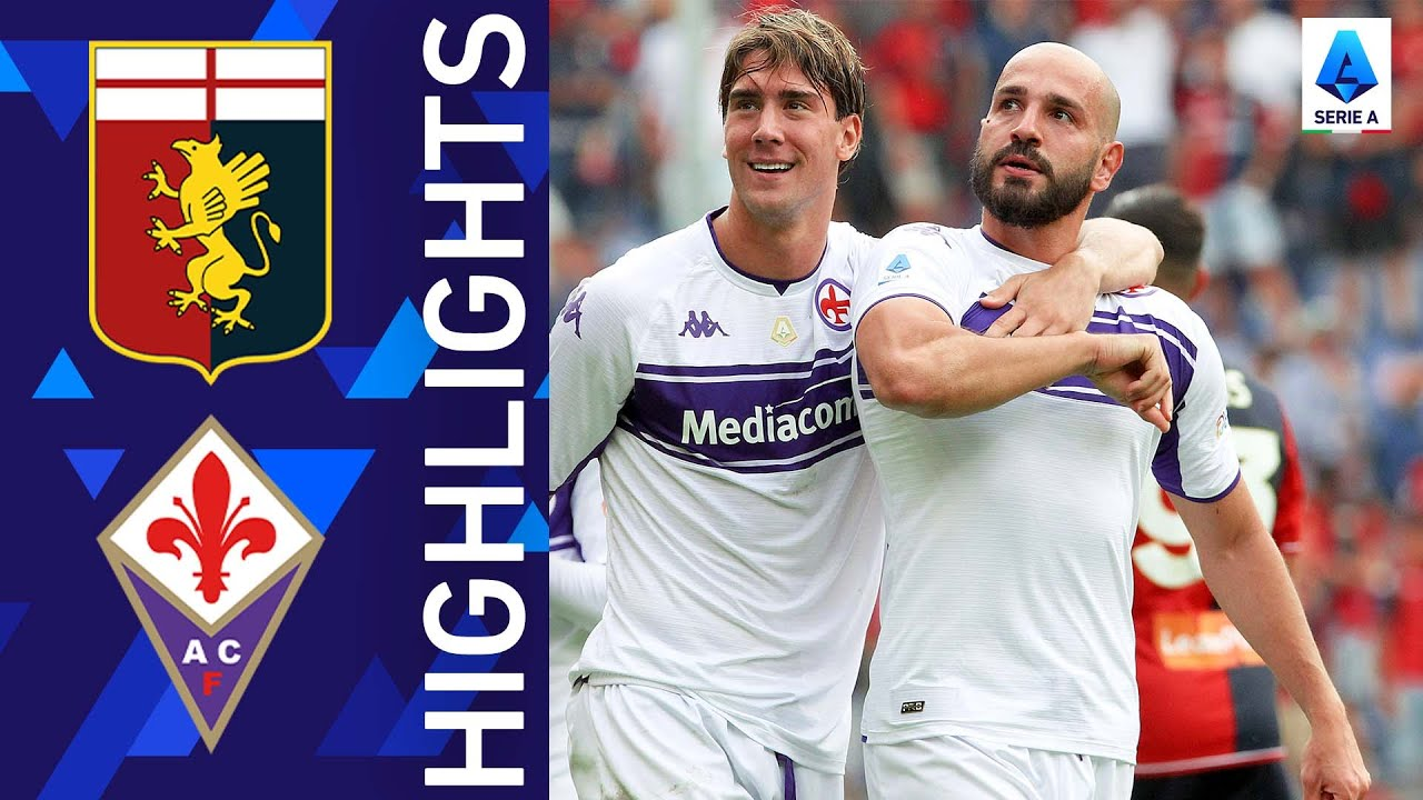 Genoa 12 Fiorentina  Saponara pulls one out of the hat  Serie A 202122