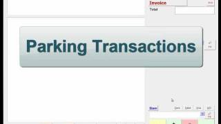 Parking Transactions in ACE Retail POS