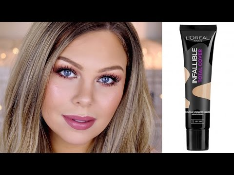 L'Oreal Complete Coverage Foundation First Impressions, Demo & Review
