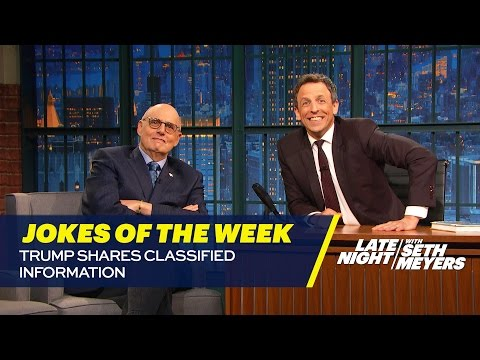 seth-s-favorite-jokes-of-the-week-trump-shares-classified-information