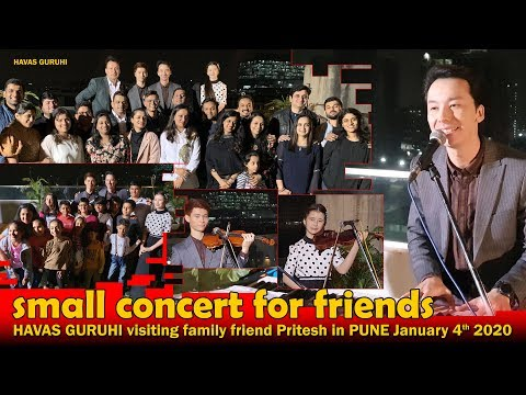 havas-guruhi-small-concert-for-friends-in-pune/-india-january-4th-2020