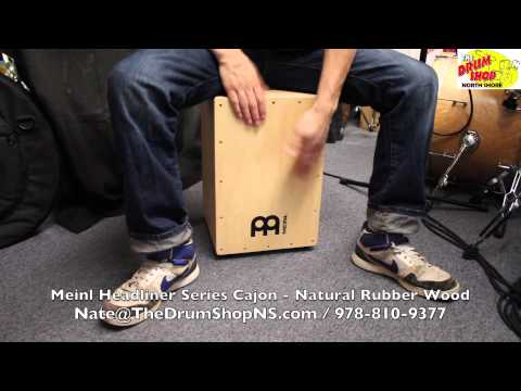 Meinl Headliner Series Cajon - Natural Rubber Wood - The Drum Shop North Shore
