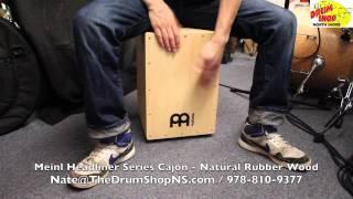 Meinl Headliner Series Cajon - Natural Rubber Wood - The Drum Shop North Shore