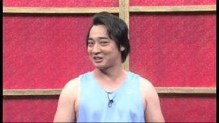 ピラメキーノ朝‐1グランプリ ジャングルポケット バスケの試合後.