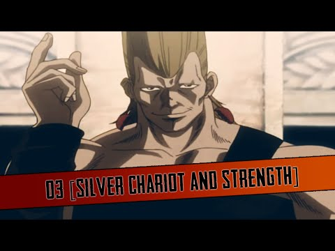 JoJo's Bizarre Adventure OAV HD - 03 [Silver Chariot and Strength]