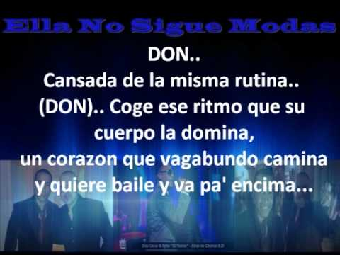 Don Omar Ft. Juan Magan - Ella No Sigue Modas (Letra)