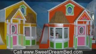 Unique Kids Beds Girls Princess Room Boys Race Car Beds