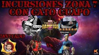 Incursiones zona 7 Rumbo a sala 15 con Gato Guapo