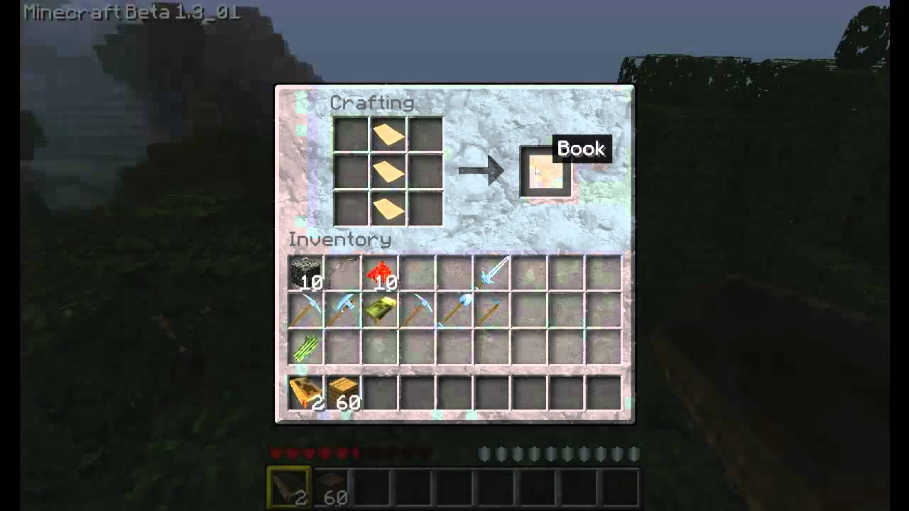 Wie Baue Ich Ein Bucherregal Minecraft Tutorial 2 Youtube