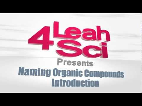 Naming Organic Compounds - Introduction To IUPAC Nomenclature
