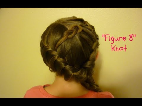 Figure 8 Knot Hairstyle And Braids Tutorial Hair4myprincess Youtube