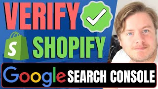 How To Verify Shopify Store With Google Search Console 2021