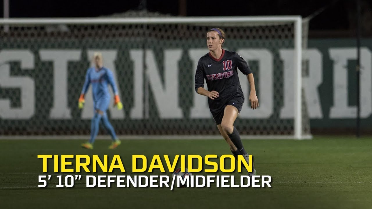 Tierna Davidson highlights: Midfielder/Defender who can do it all looks to  take her talents to
