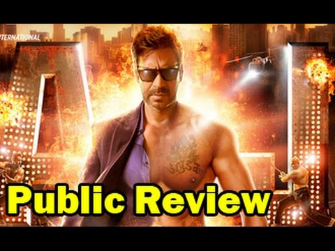 Action Jackson Public Review | Hindi Movie | Ajay Devgn, Sonakshi Sinha, Yami Gautam, Manasvi Mamgai
