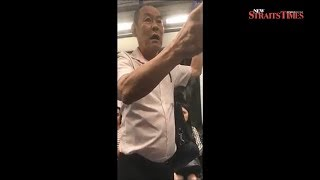 71-year-old who sexually harassed American man on Singapore train charged in court