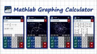 Turquoise Radio about Graphing Calculator by Mathlab