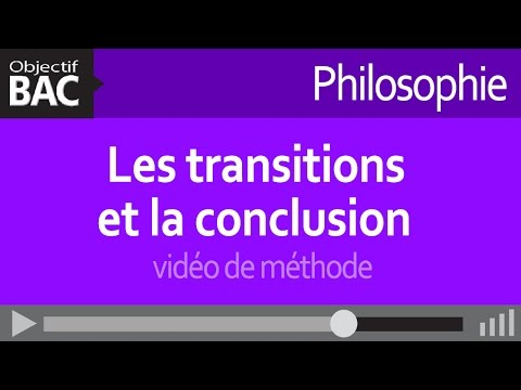 Conclusion dissertation philosophique mthode