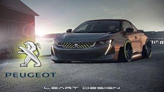 | Black Beast | Peugeot 508 Virtual Tuning Photoshop