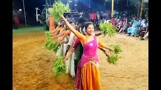 Tamil Record Dance 2019 | Latest tamilnadu village aadal paadal dance | Indian Record Dance 2019 344