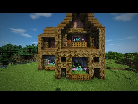 how to build a medium/small size minecraft house! - youtube