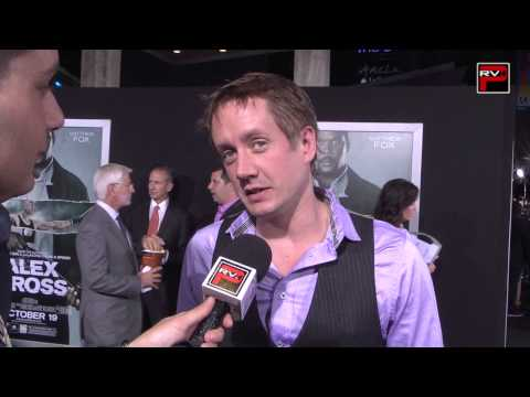 with Chad Lindberg at the Alex Cross Premiere