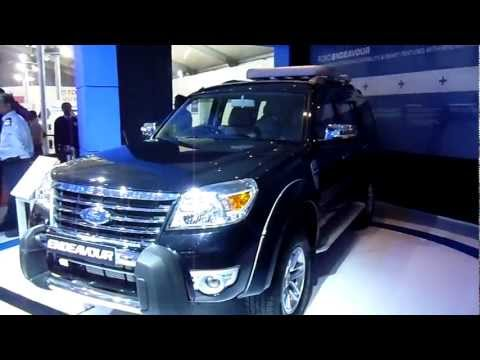 Latest Ford Endeavour Hurricane at Auto Expo 2012, New Delhi, India