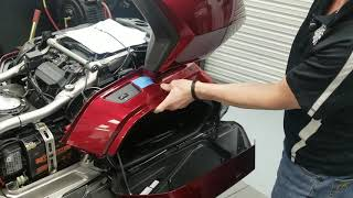 2018 2019 Honda Gold Wing - Hondaline Trunk Removal Kit Part 1