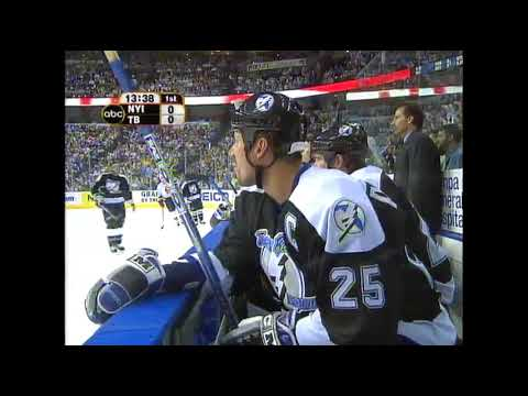 Game 2 2004 East Qtr.-Final Islanders at Lightning NHL on ABC