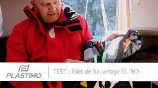Plastimo | Test du Gilet de sauvetage SL 180 par Bateaux.com