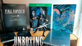 FINAL FANTASY XV ULTIMATE COLLECTOR'S EDITION UNBOXING