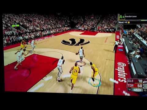 360 Alley Oop NBA 2k17
