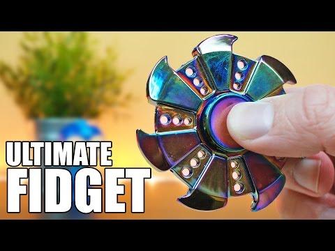 The ULTIMATE Fidget Spinner is a Ninja Star!? | Meet the YGJ Metal Spinner!