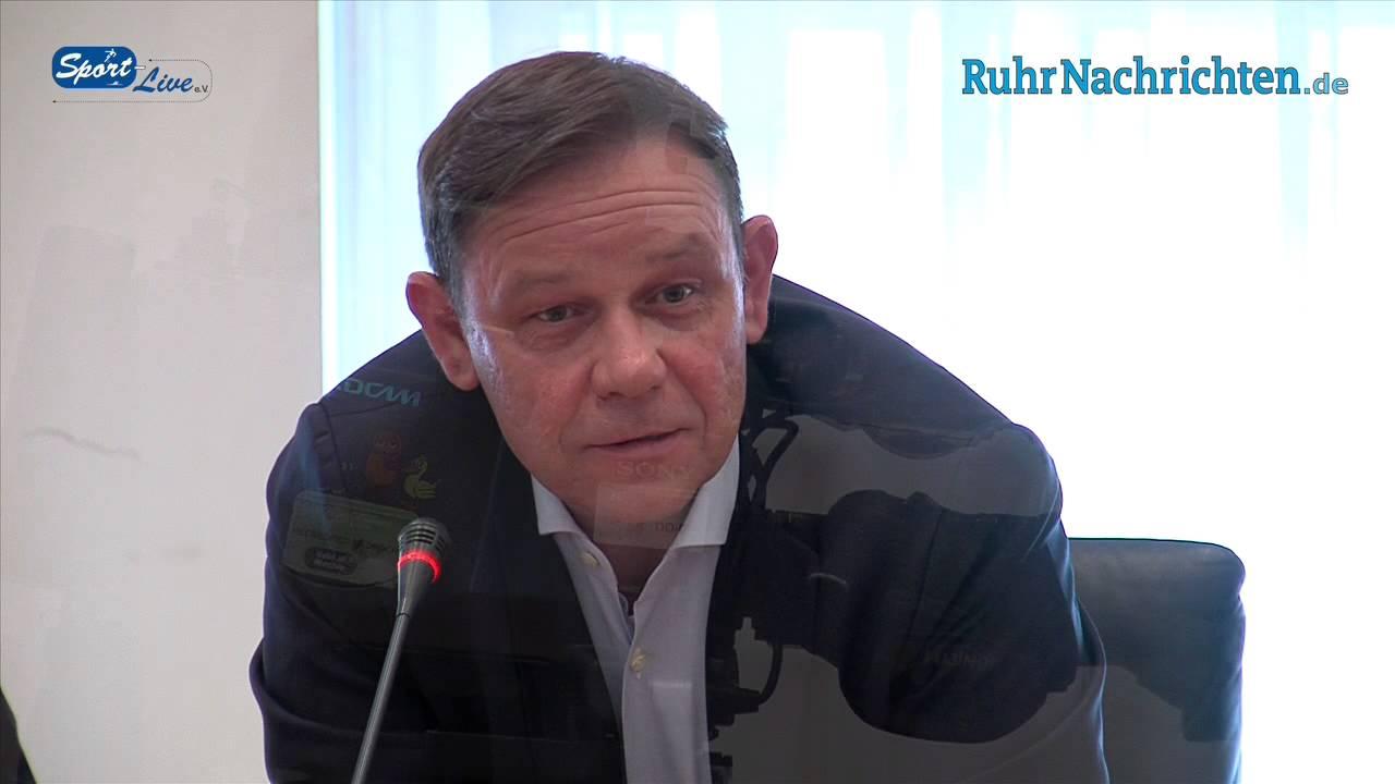 Pressekonferenz im Rathaus der Stadt Dortmund zum DFB Pokalfinale