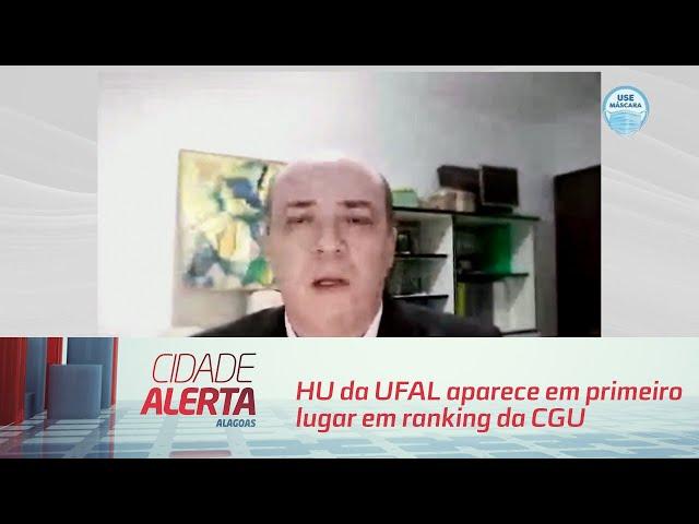 HU da UFAL aparece em primeiro lugar em ranking da CGU