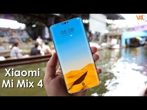 Xiaomi Mi Mix 4 First Look, Release Date, 5G, Price, 12GB RAM, 48MP 3D Camera,Launch,Trailer,Concept