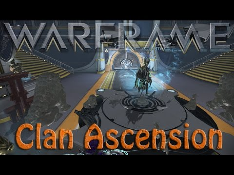 Warframe - New Clan Ranking System (Ascension Ceremony)