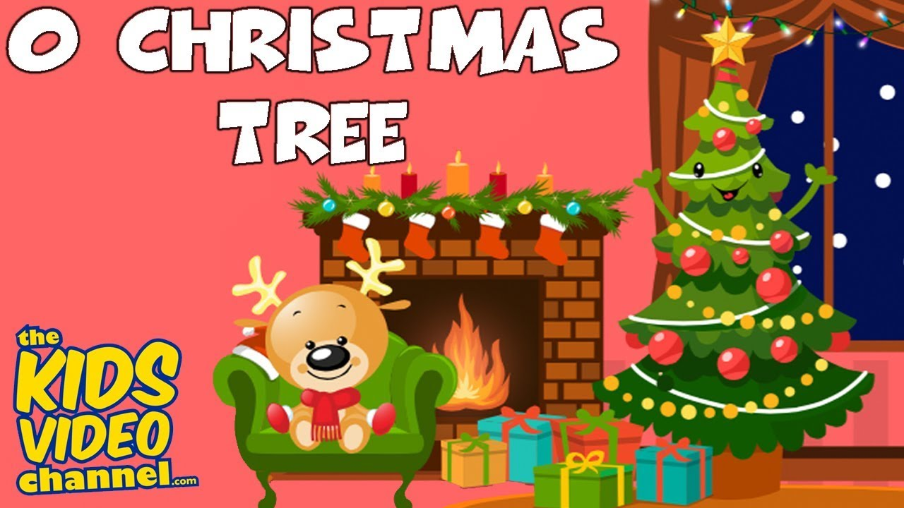 O CHRISTMAS TREE | Kids Christmas Songs | Kids Christmas Carols ...