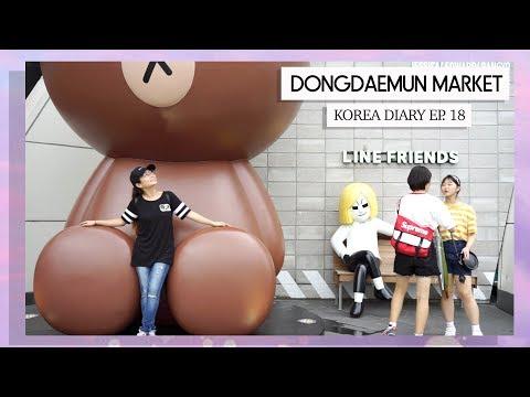 KOREA DIARY Ep. 18 │SHOP with ME! Dongdaemun Market