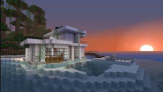 Как построить красивый дом в Minecraft ( Modern house )([ОТКРОЙ ОПИСАНИЕ] Видео со звуком и без ускорения: http://www.youtube.com/watch?v=KsEGDXbRAnk [!]Звук в видео отключили из-за..., 2013-01-16T06:06:41.000Z)