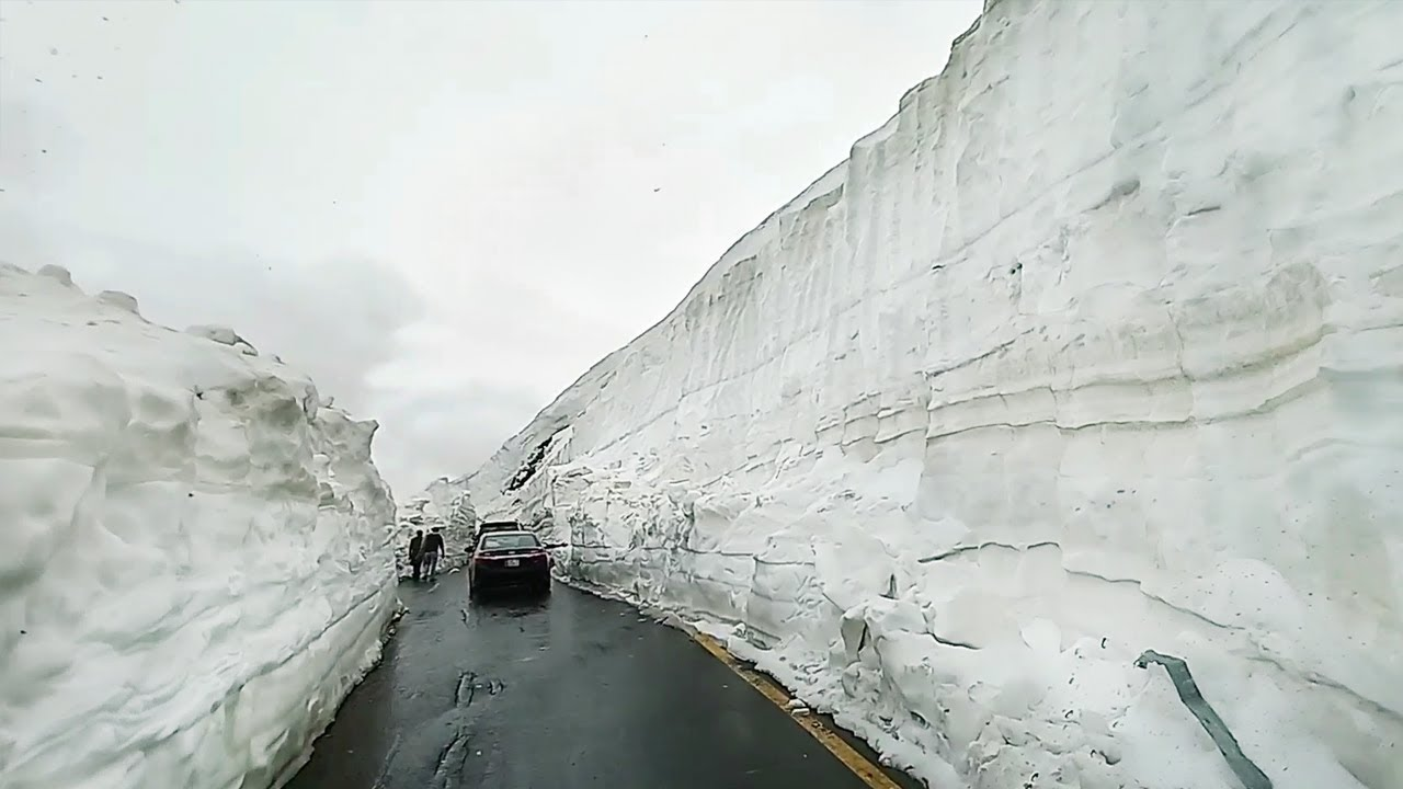 Hunza To Babusar Top Naran Road June 20 2019 Snow Glaciers