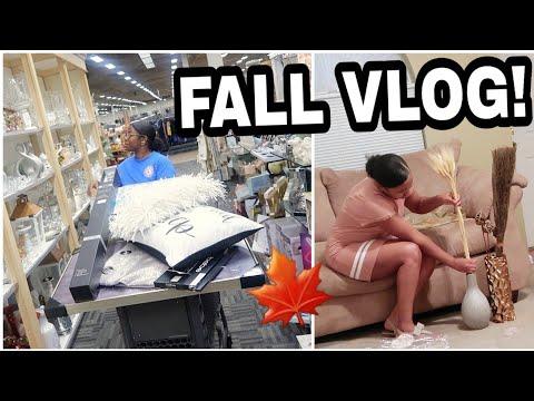 Sister Vlog: Fall Decor Prep, House Updates + Bedroom Decor Shopping!